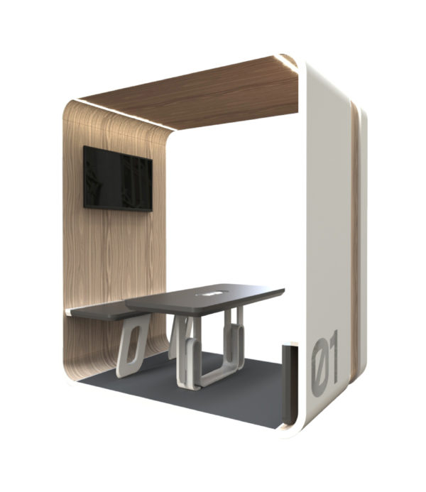 24 Work Pod by 24 Concept